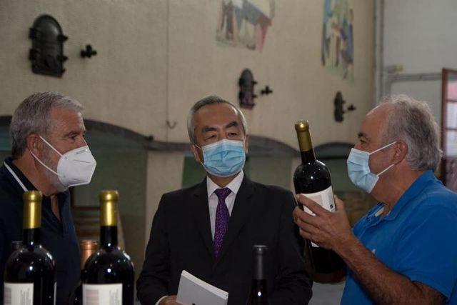 El Embajador de Japón visita Bullas - 3, Foto 3