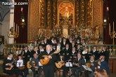 La misa de villancicos a cargo de la orquesta de Pulso y Púa Ciudad de Totana y el Coro Amanenecer se celebrará mañana sábado 2 de enero