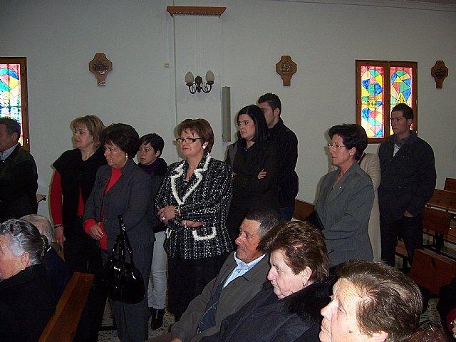 Autoridades municipales acuden al Raiguero Alto donde se celebró una misa en la ermita de Santo Domingo, Foto 3