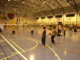 La sala escolar de Totana acoge la primera jornada de Bádminton del Campeonato de Promoción Deportiva de la Región de Murcia de Deporte Escolar