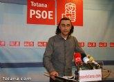 PSOE: La incompetencia del PP totanero ahorrará 700.000€  a los bolsillos de los totaneros