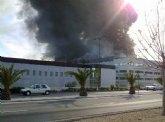 Emergencias aconseja a los vecinos de Alhama el cierre de ventanas y que eviten salir