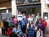 Fran Murcia visitó la sede de D'Genes