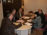 Los responsables socialistas del Guadalent�n se reunen en Totana