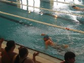 Los usuarios del Centro Ocupacional de Mazarrón destacan en natación