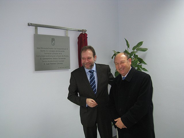 Alhama de murcia sotoca inaugura una nueva oficina de for Oficina empleo murcia