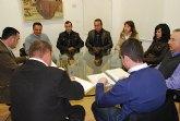 El alcalde se reúne con la junta directiva del Ilustre Cabildo Superior de Procesiones de Totana