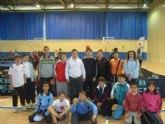 Los escolares totaneros obtienen buenos resultados en la segunda jornada regional de tenis de mesa de Deporte Escolar