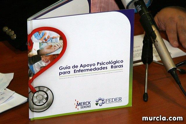Presentación de la primera guía psicológica para afectados por enfermedades raras, Foto 2