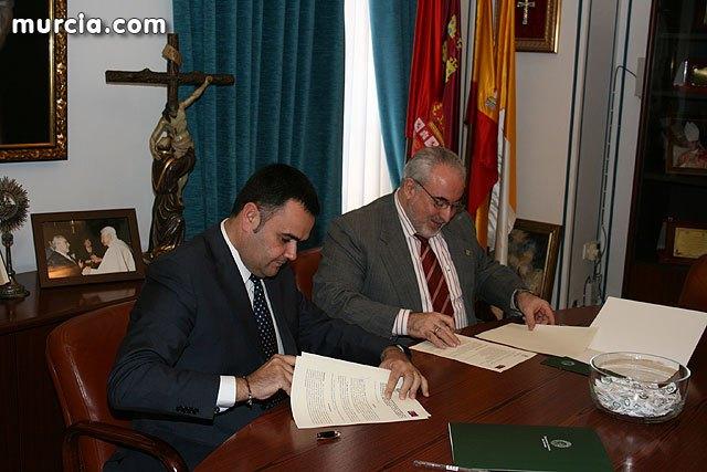 El alcalde de Totana y el presidente de la UCAM se alían, Foto 1