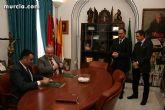 El alcalde de Totana y el presidente de la UCAM se alían - 4