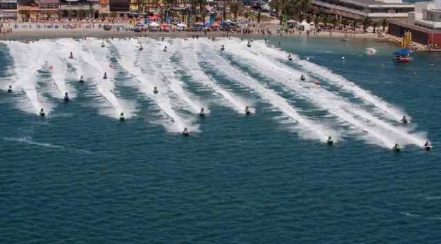 Los días 6 y 7 de febrero se inaugura la temporada 2010 de motos de agua con la primera prueba puntuable para el campeonato regional murciano, Foto 2