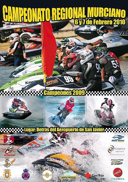 Los días 6 y 7 de febrero se inaugura la temporada 2010 de motos de agua con la primera prueba puntuable para el campeonato regional murciano, Foto 3