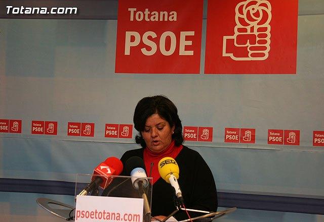 Rueda de prensa Lola Cano, Foto 1