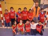 La concejalía de Deportes organiza una jornada de baloncesto benjamín enmarcada en los juegos escolares del programa de Deporte Escolar