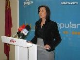 La presidenta de NNGG de Totana afirma que los jóvenes han perdido cualquier confianza en Zapatero