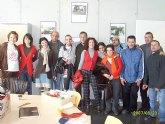 Los usuarios y profesionales del Servicio de Apoyo Psicosocial del ayuntamiento realizan una salida programada en tren a Lorca
