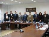 Los alcaldes de Lorca, Águilas, Totana y Puerto Lumbreras y la Confederación Comarcal de Organizaciones Empresariales, -CECLOR-, aunan esfuerzos