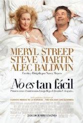 """La comedia romántica """"No es tan fácil"""" se proyectará este fin de semana en el Cine Velasco"""