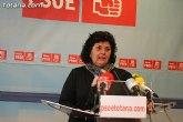 El PSOE ofreció una rueda de prensa para hacer una valoración del Pleno ordinario de febrero de 2010