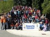 Más de 200 escolares participan en la jornada de orientación de Deporte Escolar