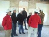 El nuevo concejal de Fomento y Empleo visita el estado de las obras de la Escuela Taller Casa de Las Monjas I