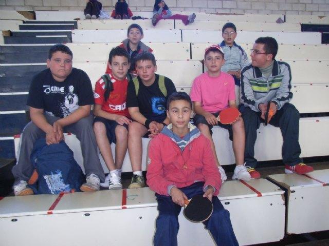 El equipo infantil masculino del IES Juan de la Cierva se proclama subcampeón en la final regional de tenis de mesa de Deporte Escolar, Foto 3