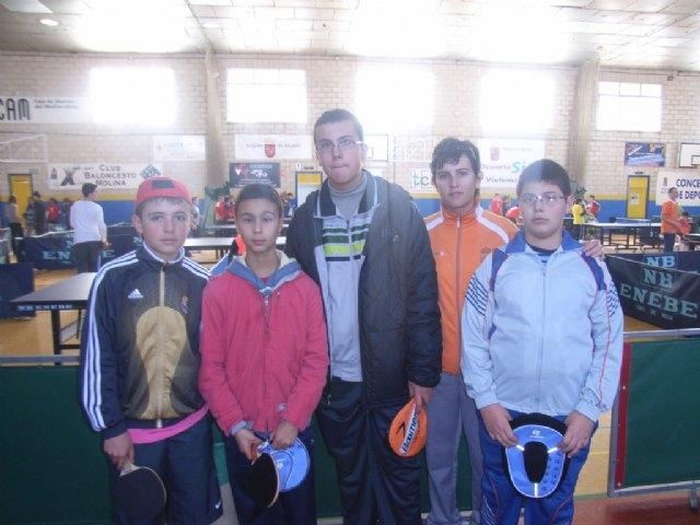 El equipo infantil masculino del IES Juan de la Cierva se proclama subcampeón en la final regional de tenis de mesa de Deporte Escolar, Foto 4