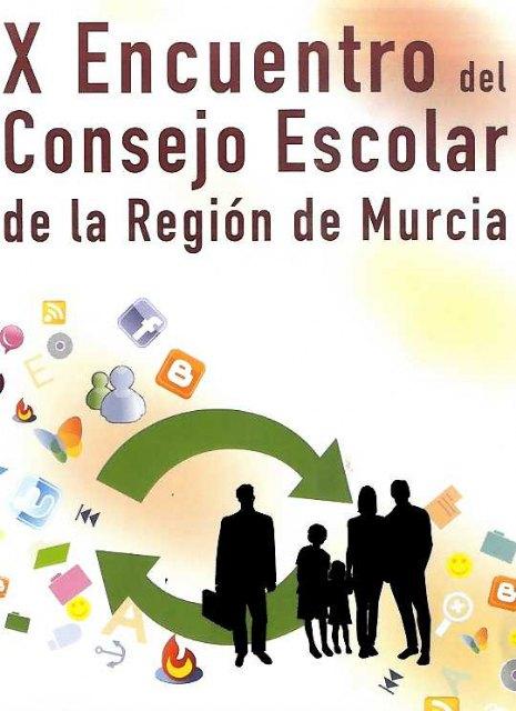 El próximo jueves 4 de marzo el municipio acoge una mesa redonda enmarcada en el X Encuentro del Consejo Escolar de la Región de Murcia, Foto 1