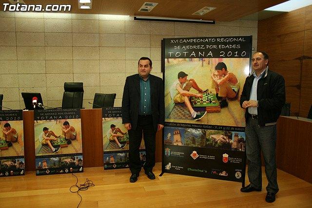 Totana acoge el Campeonato Regional de Ajedrez por edades que comenzará  este Domingo, Foto 1