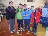 El equipo infantil masculino del IES Juan de la Cierva se proclama subcampeón en la final regional de tenis de mesa de Deporte Escolar