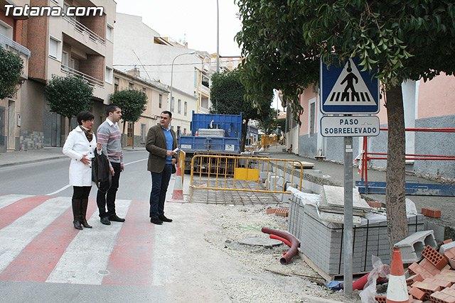 Las obras de la calle General Páramo subsanarán las deficiencias de accesibilidad a las viviendas, Foto 1