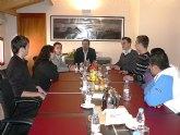 El Alcalde se reúne con los Jóvenes emprendedores de Mazarrón
