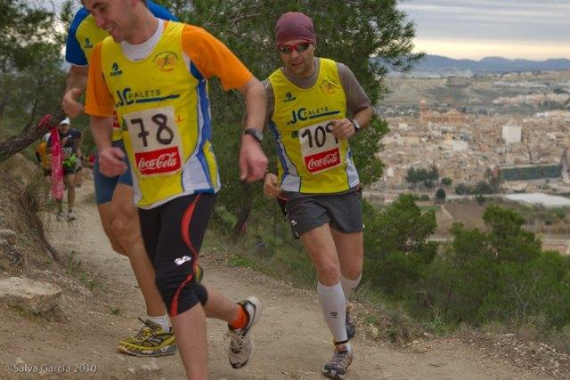 El equipo de carreras por montaña del Club Atletismo Totana comienza la liga regional, Foto 1