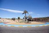 Nueva imagen de la rotonda que conecta Mazarrón y Morata