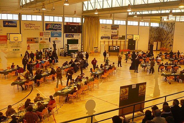 Se celebró  en Totana la primera jornada del Campeonato Regional de Ajedrez por edades, Foto 1