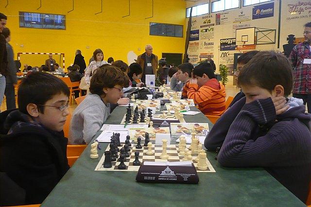 Se celebró  en Totana la primera jornada del Campeonato Regional de Ajedrez por edades, Foto 2