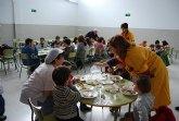 Queda inaugurado el nuevo comedor del Colegio Gines D�az-San Crist�bal