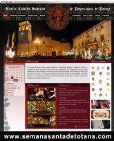 """La Semana Santa de Totana se abre al mundo, con una promoción más atractiva y dinámica, a través de la nueva página web """"semanasantadetotana.com"""""""