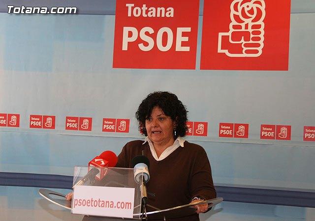 Press conference Lola Cano PSOE Totana - 1