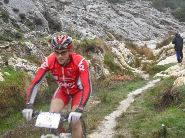 "CC Doublet Santa Eulalia in the ninth race MTB ""Without fear of witch"" in Velez Blanco - 1"