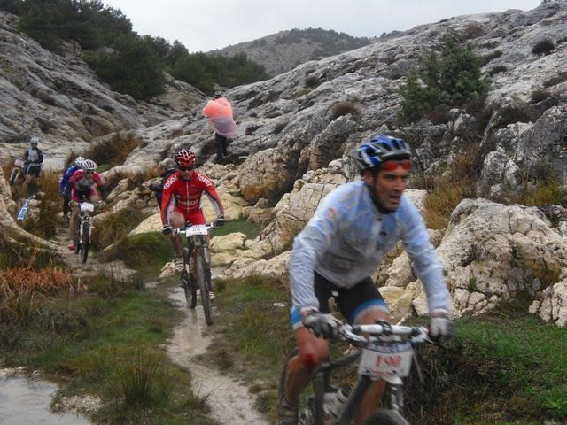 "CC Doublet Santa Eulalia in the ninth race MTB ""Without fear of witch"" in Velez Blanco - 2"