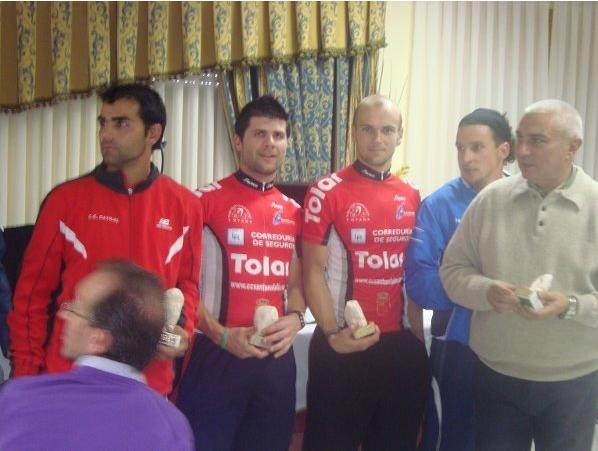 "CC Doublet Santa Eulalia in the ninth race MTB ""Without fear of witch"" in Velez Blanco - 3"