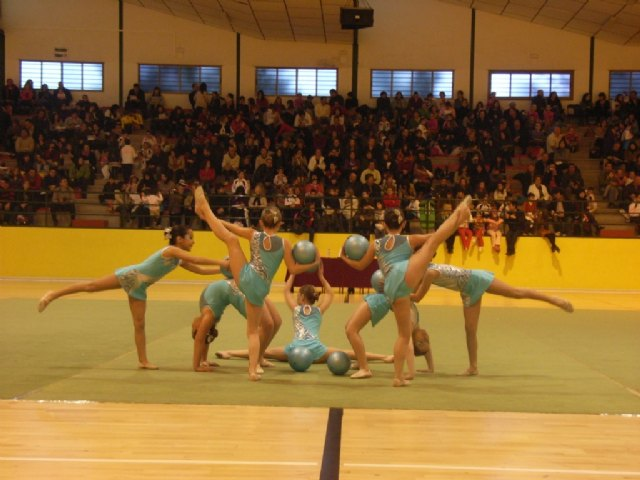 The Department of Sport Totana organized interschool competition of rhythmic gymnastics - 1