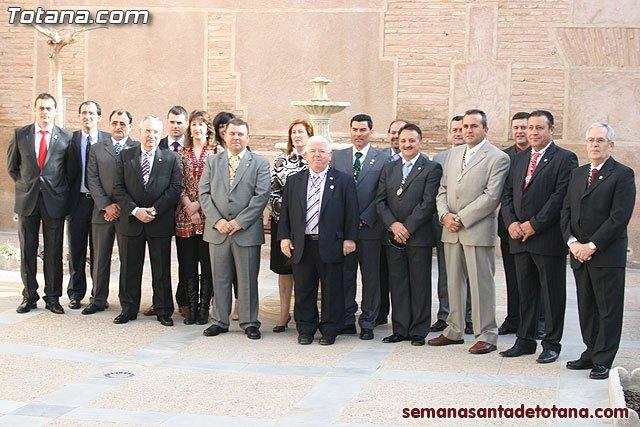 El alcalde felicita al Cabildo y a todas las Hermandades por la buena organización de todos los actos y procesiones de la Semana Santa, Foto 1