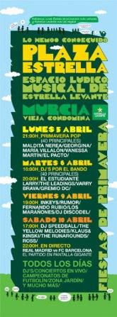 Inkeys en las fiestas de primavera de Murcia