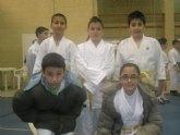 Los alumnos de la Escuela Deportiva Municipal de Judo de Totana participan en las competiciones federadas celebradas en Puente Tocinos