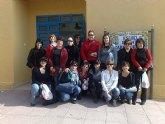 Las alumnas del curso de Auxiliar de Educación Infantil realizan una visita didáctica a la Escuela Municipal Infantil Carmen Baró