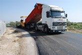 La concejalía de Caminos informa de que se han subsanado las deficiencias del camino del Mazarronero con la repavimetación del firme