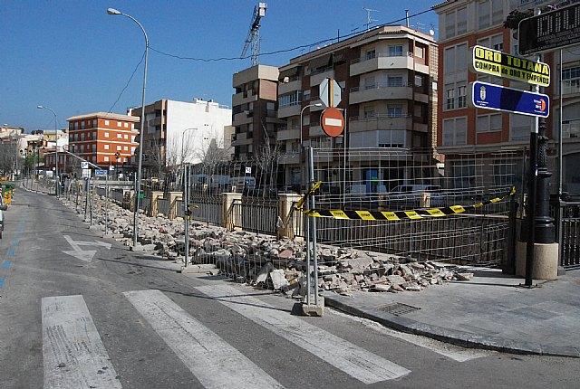 Comienzan las obras de remodelación del paseo de la Avenida de la Rambla de La Santa, incluida en el POS 2009, Foto 1